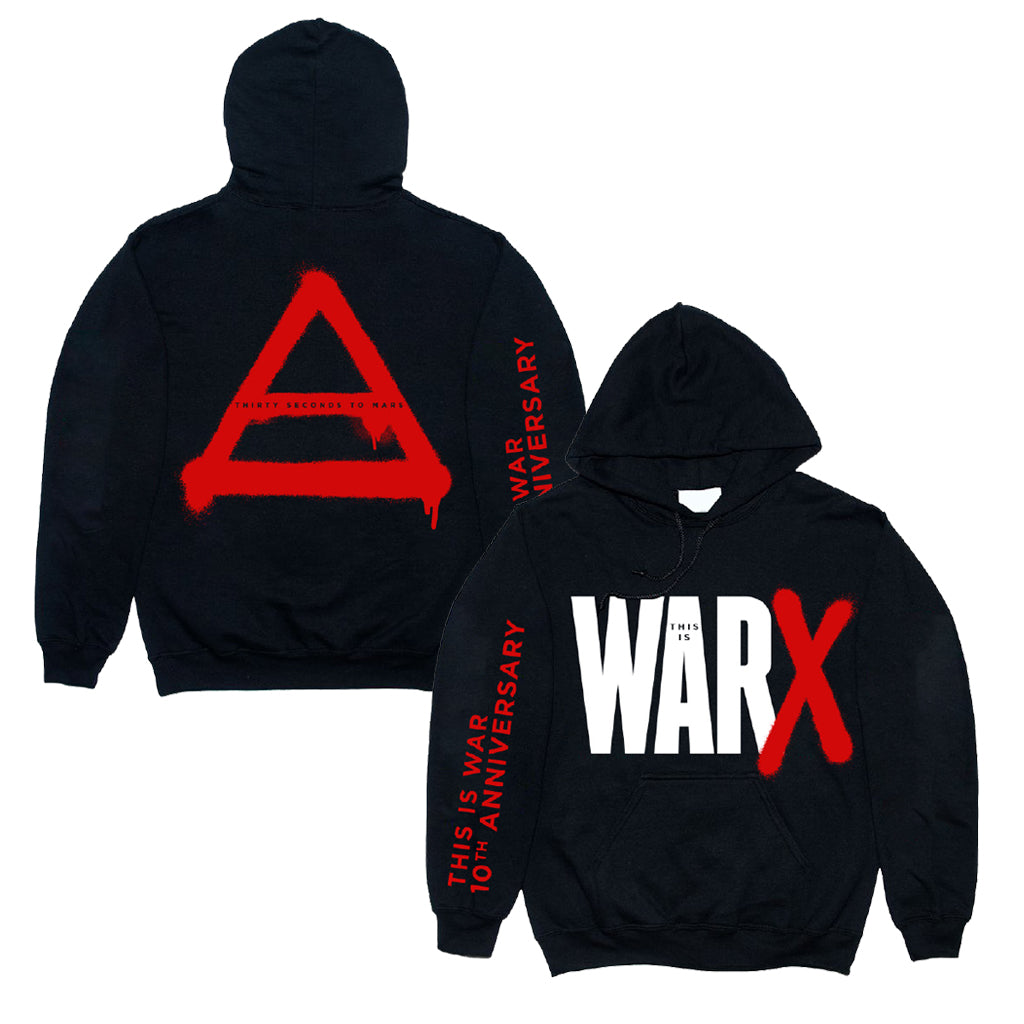 This is War 10th Anniversary Hoodie
