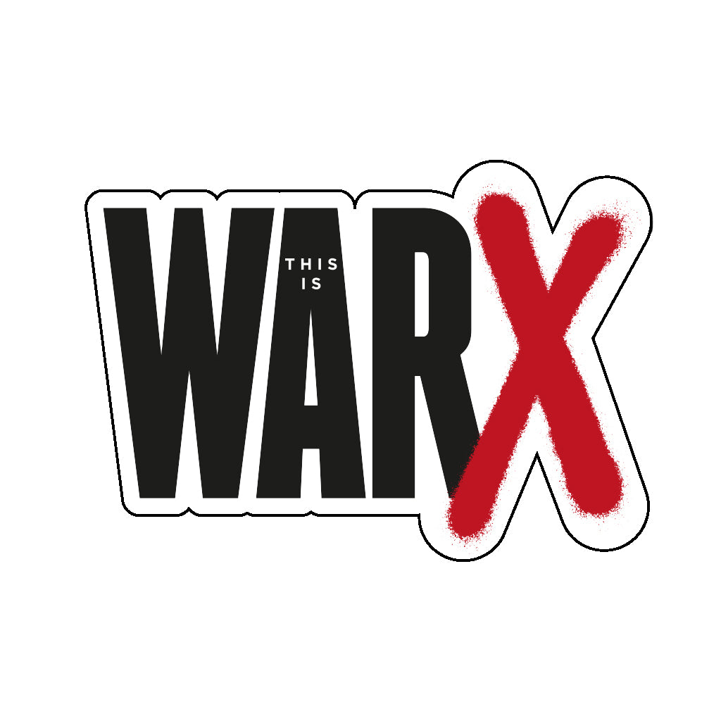 This Is War 10th Anniversary Sticker
