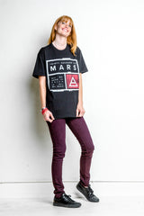 Distressed Mars Box Tee