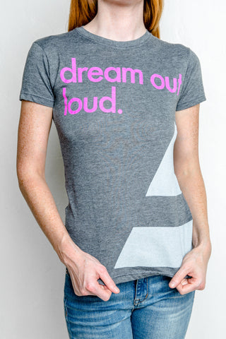 Dream Out Loud Wrap Around T-Shirt (ONLY SMALL LEFT)