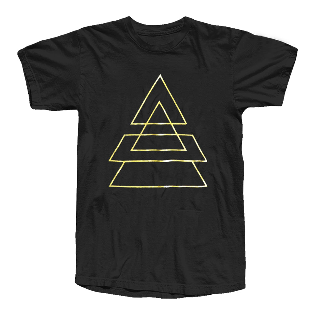 Triad Outlines Gold Foil Tee