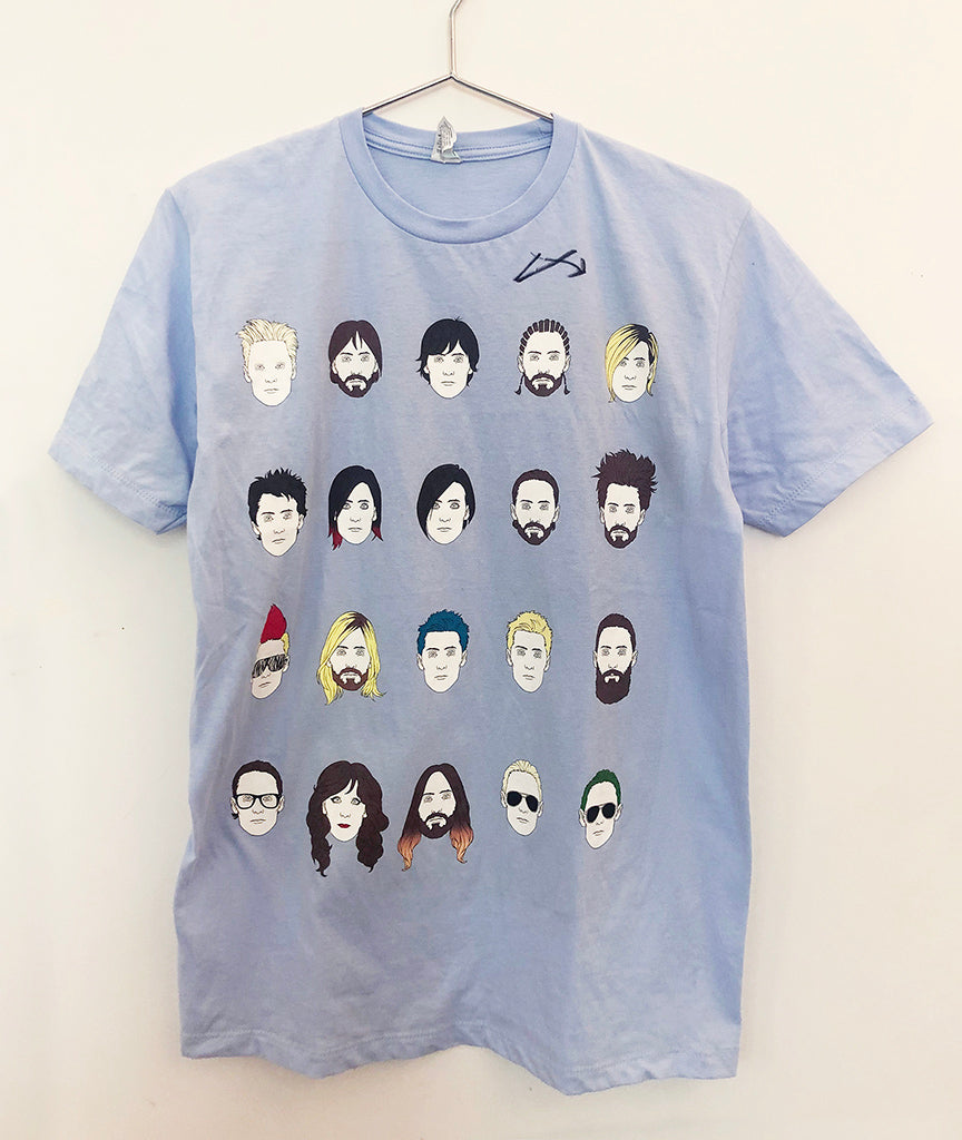 Jared Leto Collection Portrait of a Madman Tee (Signed)