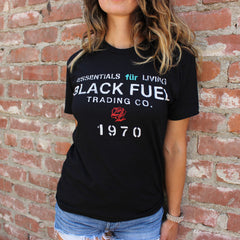 Black Fuel 1970 T-Shirt - Black