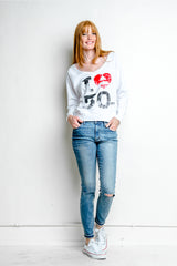 I Heart 30STM Lightweight Sweater