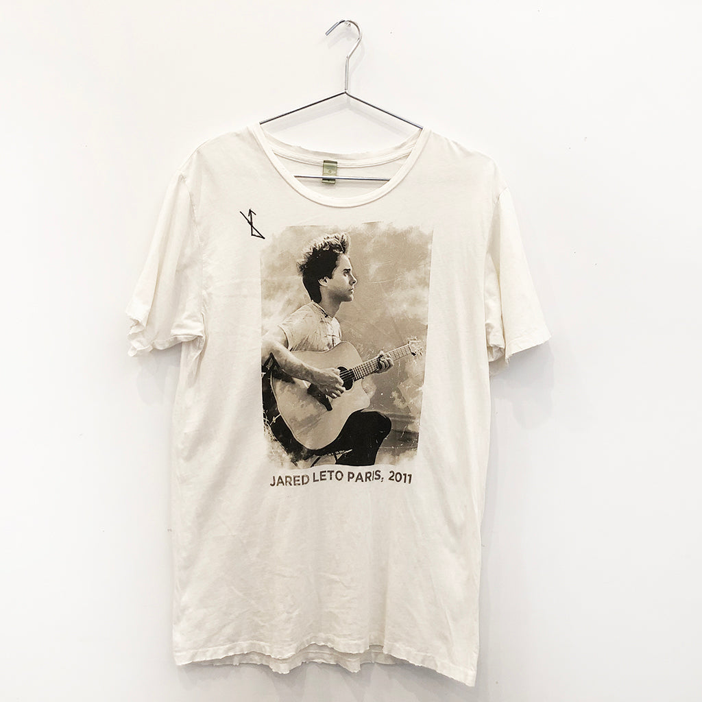 Jared Leto Collection Jared Paris 2011 Acoustic Photo Shirt