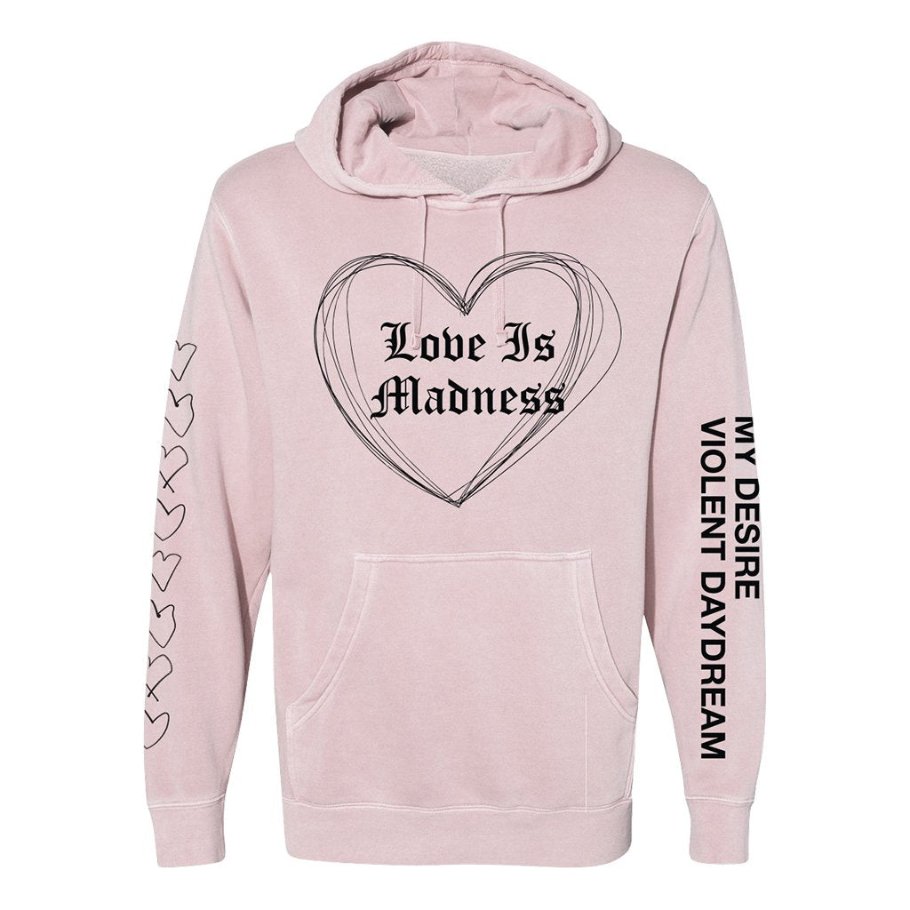 Love Is Madness Premium Hoodie (Signed)