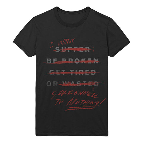 Attack Lyric Tee (Limited Edition) (Black)