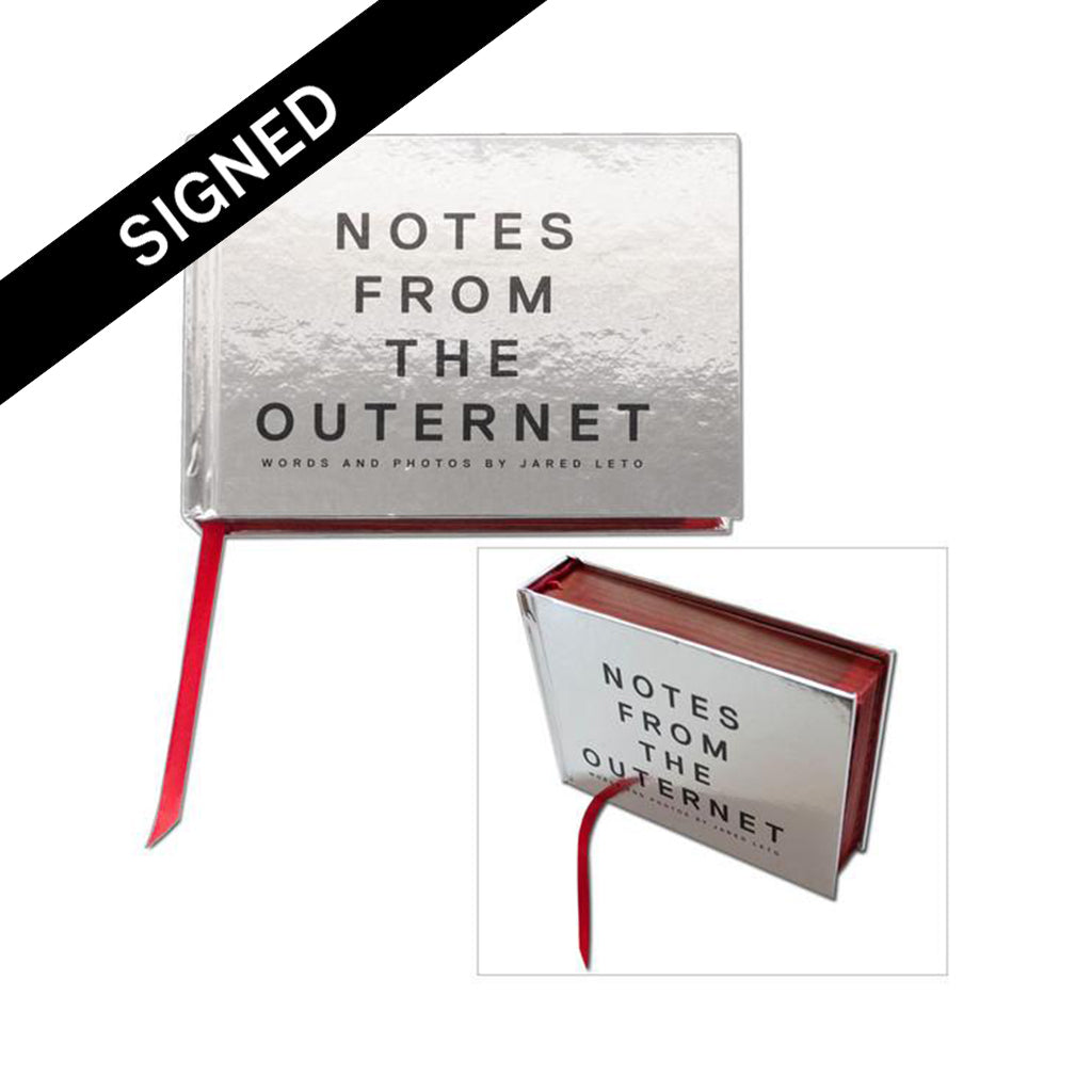 Notes From The Outernet V1 Book (Signed)