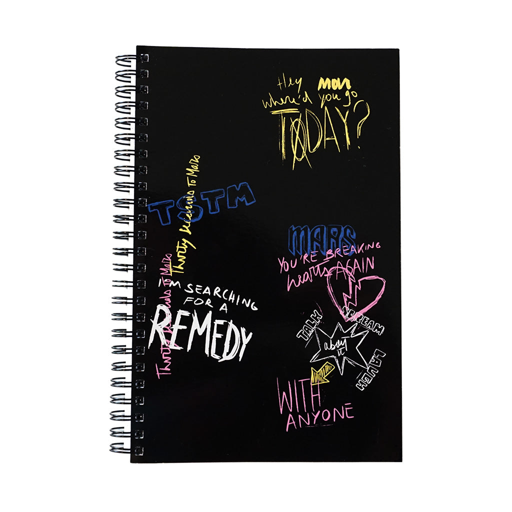 The Remedy Lyric Notebook