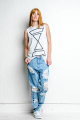 Reflective Triad Sleeveless