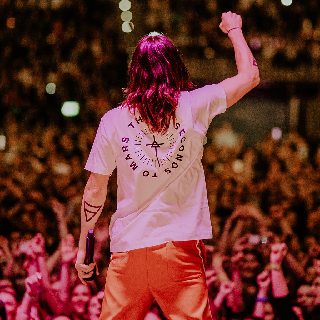 Jared Leto Collection Circular Mars Tee