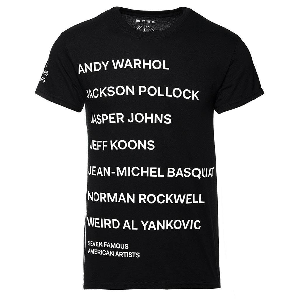 7 Famous American Artists Tee