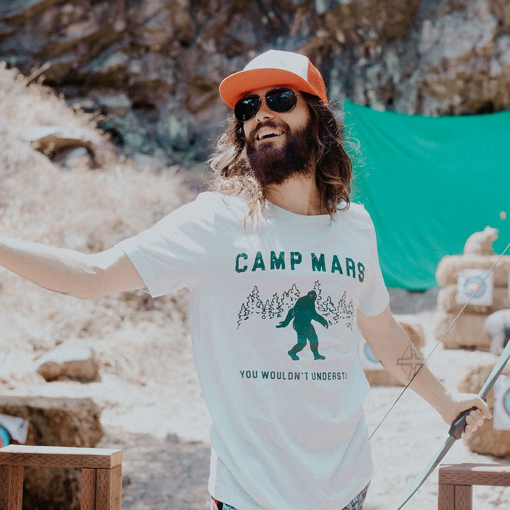 Jared Leto Collection Camp Mars Bigfoot Tee