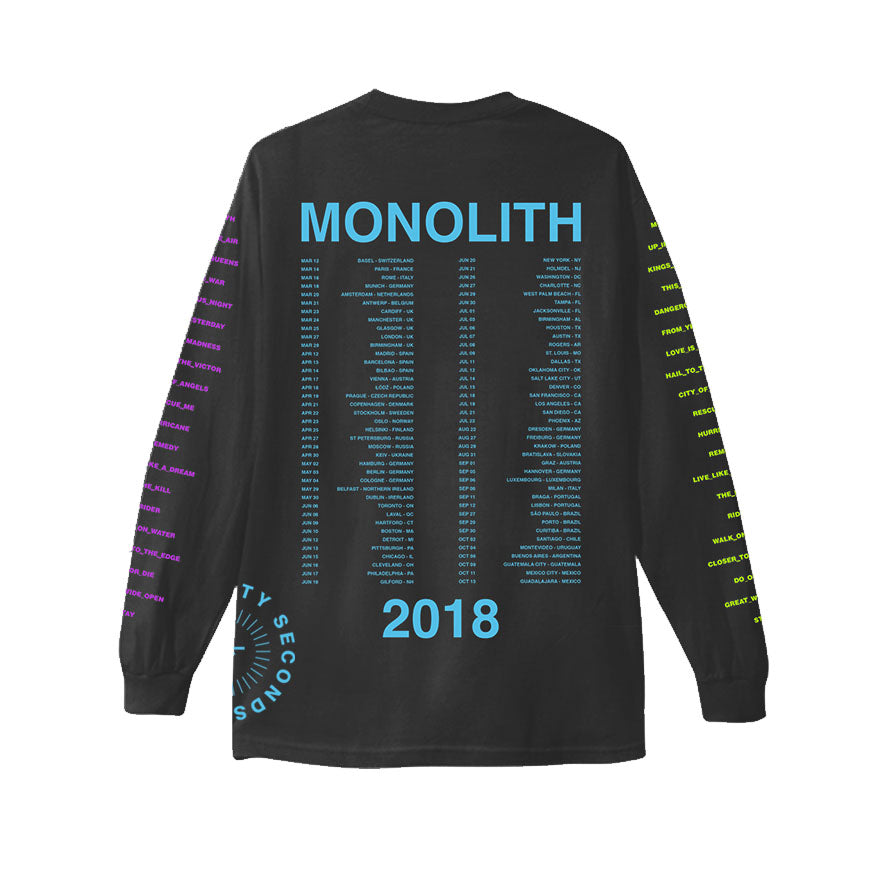 Monolith World Tour 2018 Long Sleeve