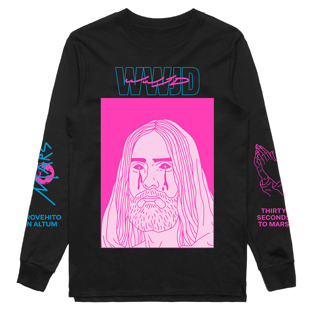 WWJD 2.0 Black Long Sleeve