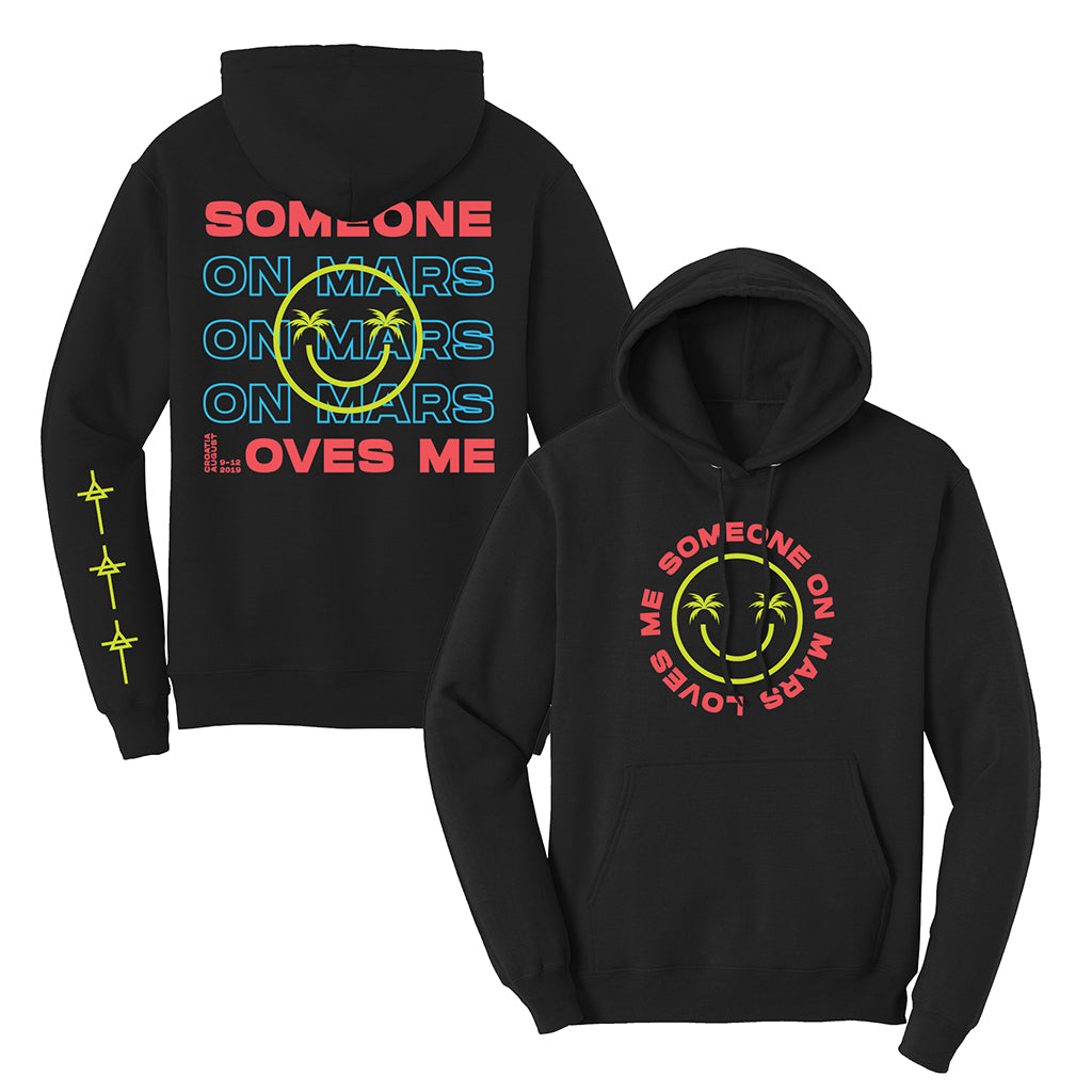 Mars Island Someone on Mars Loves Me Hoodie