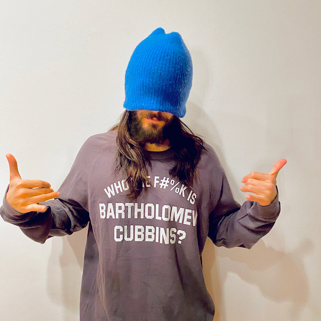 Who the F#%k is Bart Cubbins Dark Grey Sweatshirt