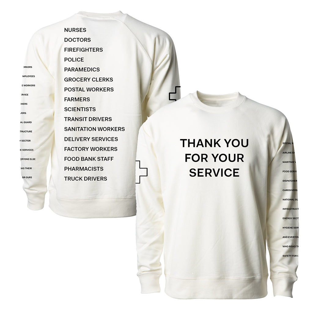 Thank You For Your Service Sweatshirt