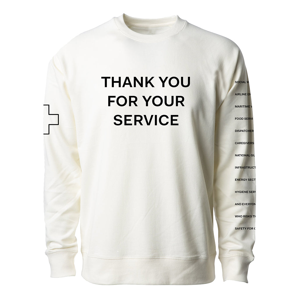 Thank You For Your Service Sweatshirt (Pre-Order)