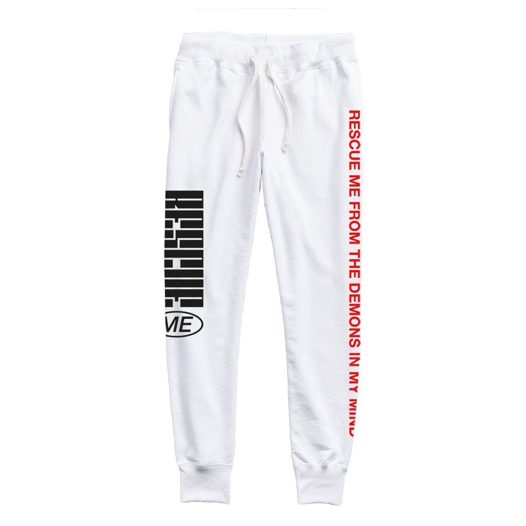 Rescue Me Lyric Sweatpants