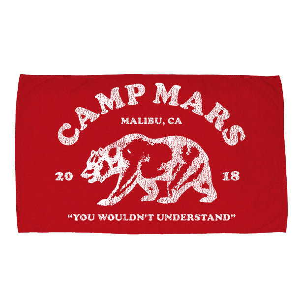 Camp Mars 2018 Bear Towel