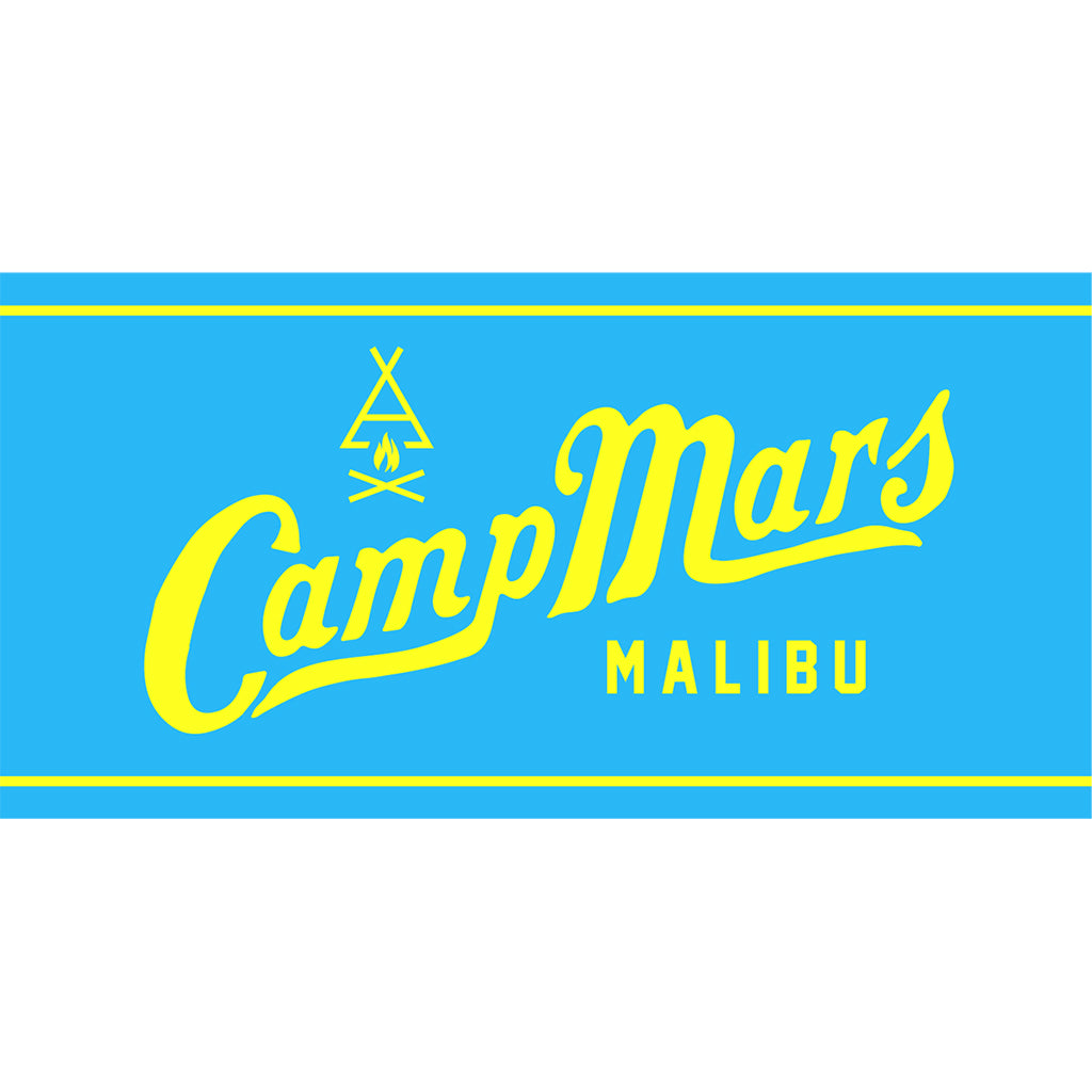 Camp Mars Towel