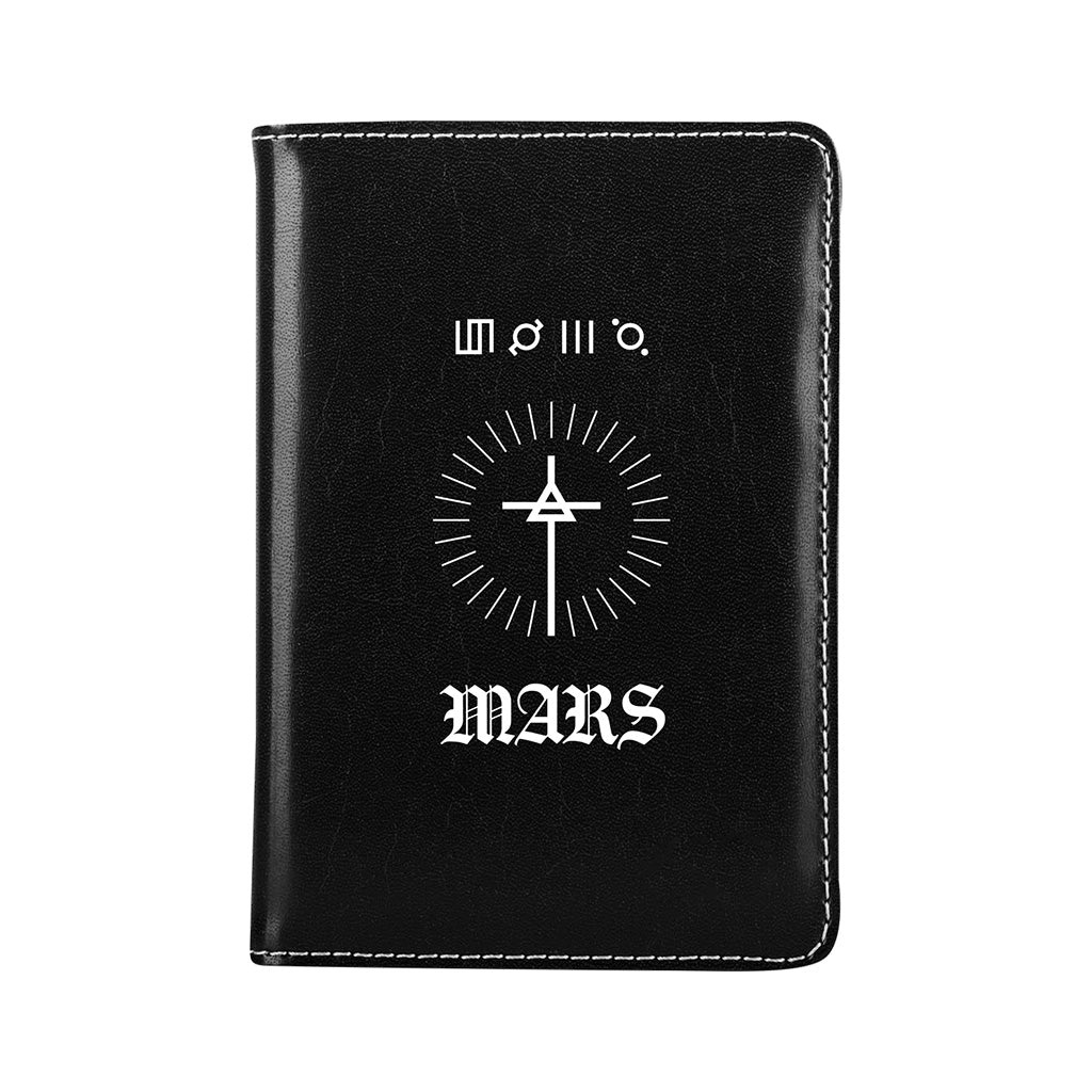 Circular Triad RFID Passport Wallet