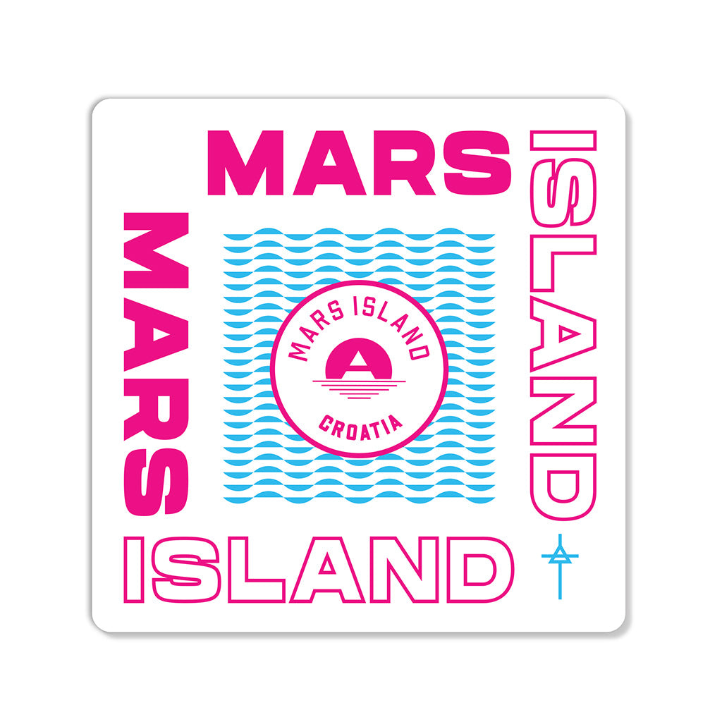 Mars Island Patch Set