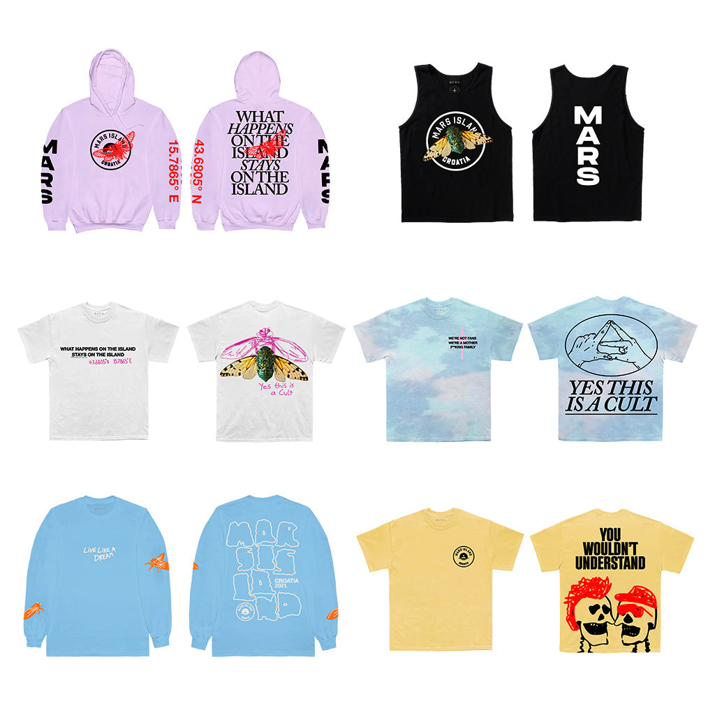 Mars Island 2021 Collection Bundle (Pick Up Only)