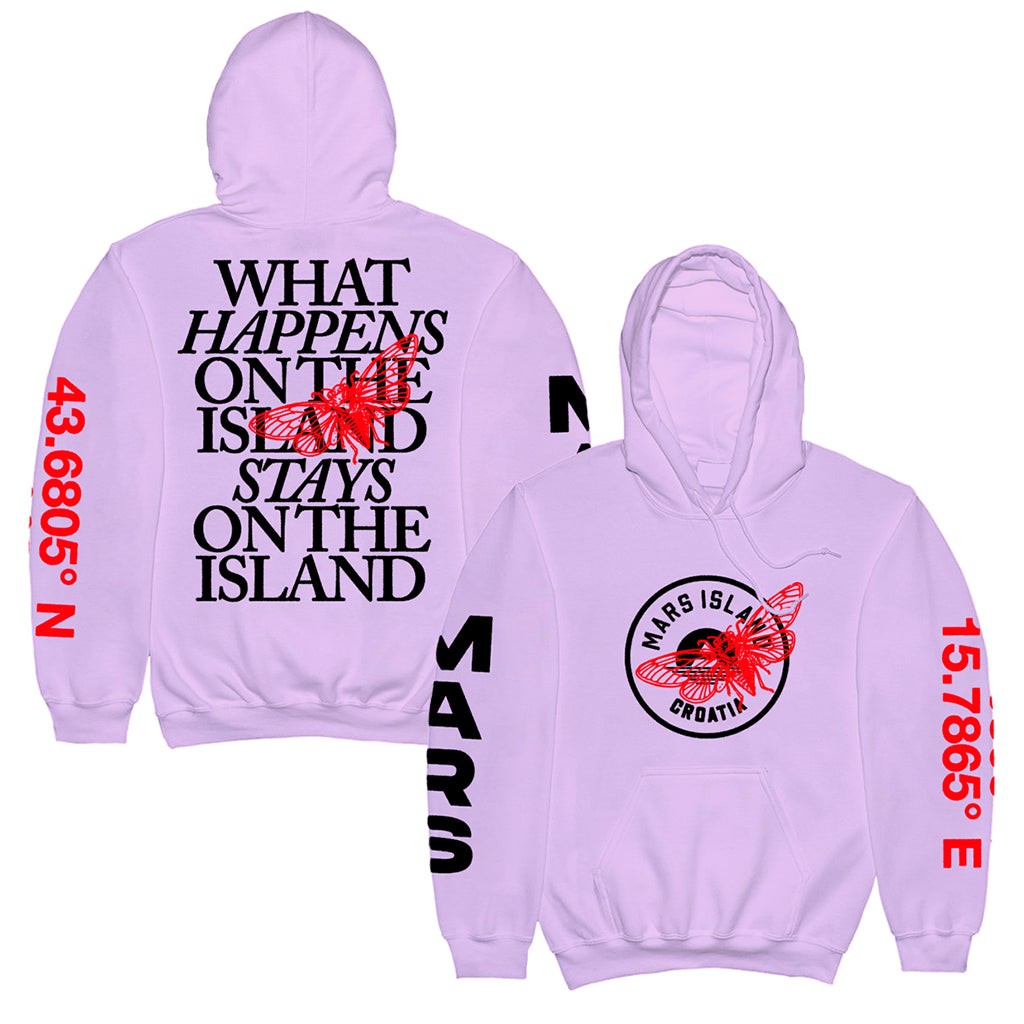 Mars Island 2021 Cicada Hoodie (Pick Up Only)