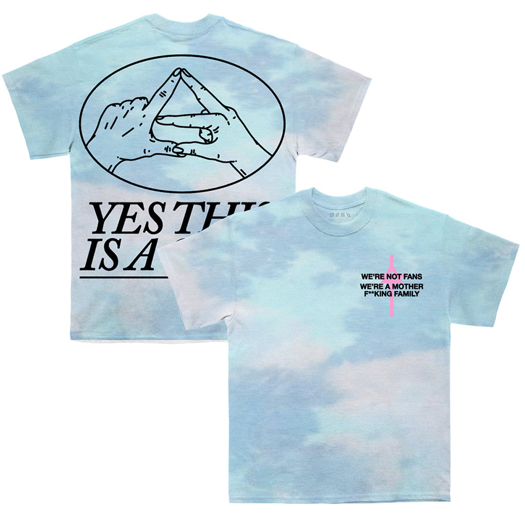 Mars Island 2021 Cult Triad Hands Tie Dye Tee (Pick Up Only)