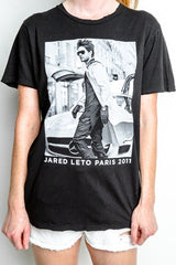 Jared Paris 2011 Trenchcoat Photo Distressed T-Shirt