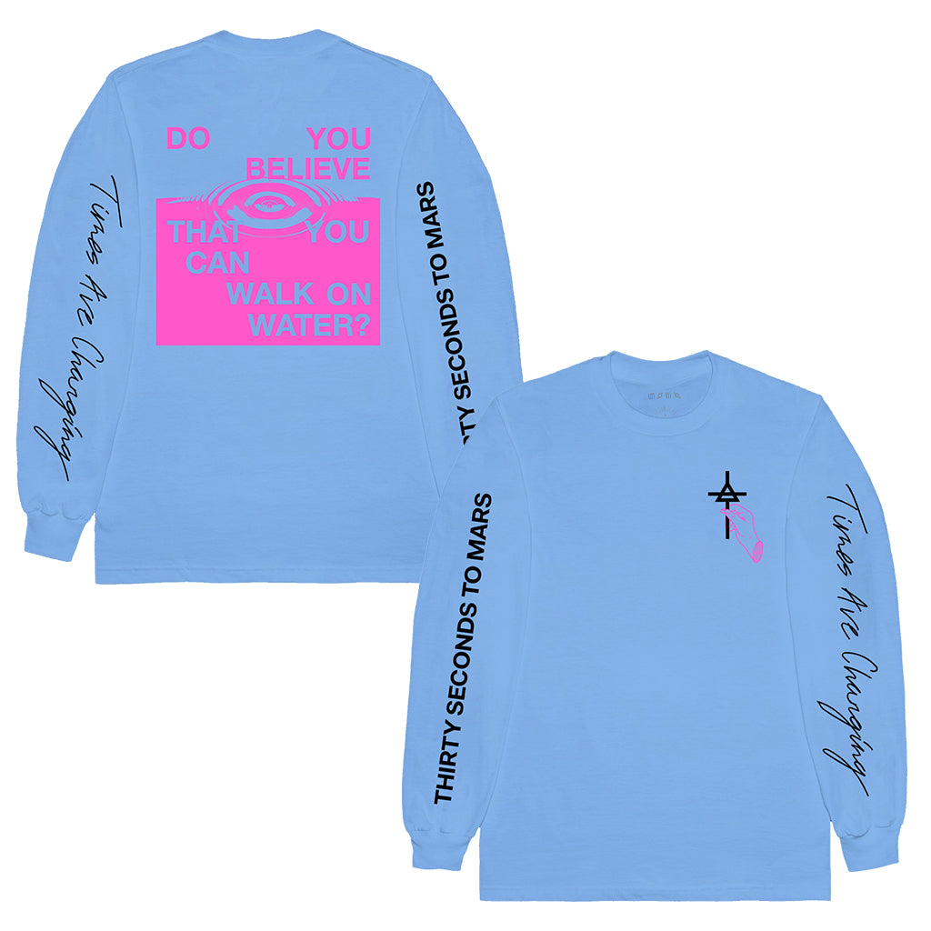 Walk on Water Long Sleeve