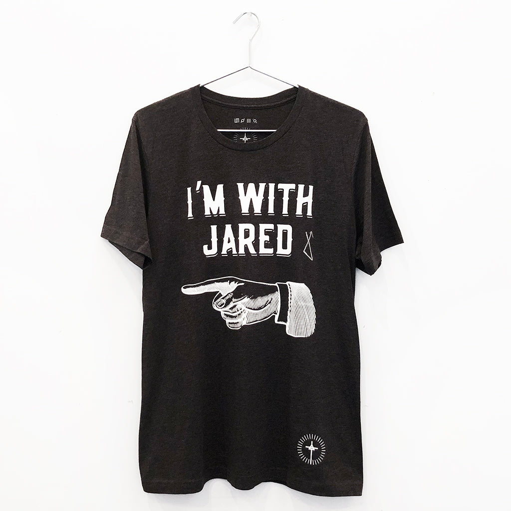 "Jared Leto Collection ""I'm With Jared"" Sample Tee"