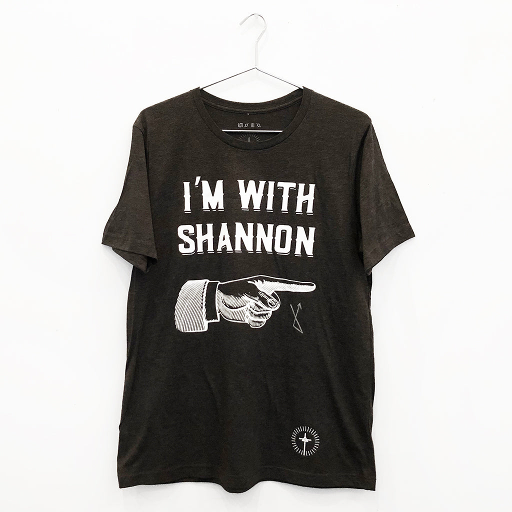"Jared Leto Collection ""I'm With Shannon"" Sample Tee"