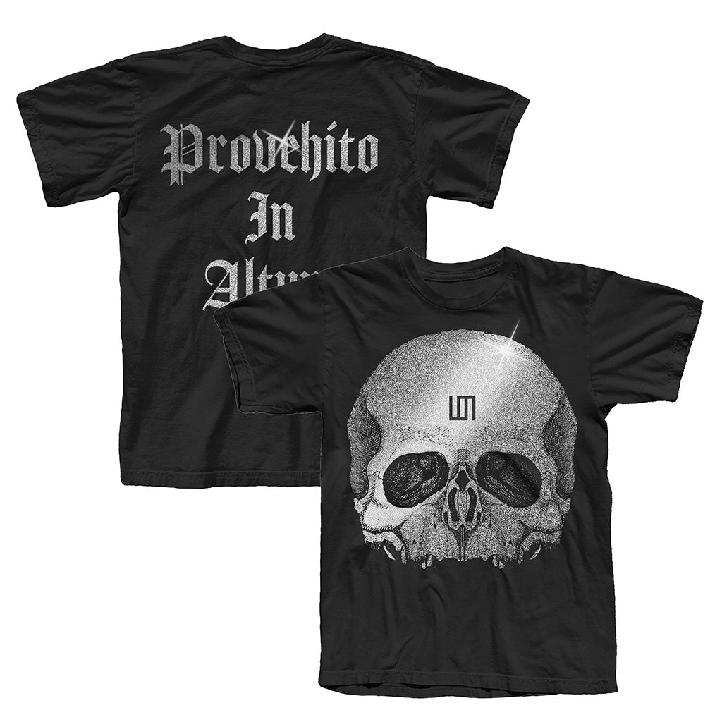 Europe Tour 2019 Skull Provehito in Altum Tee