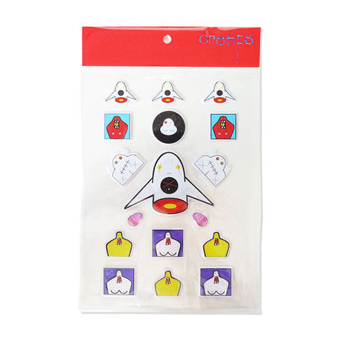 Creeps Puffy Sticker Pack