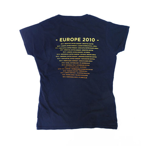 Kings & Queens European 2010 Tour Ladies T-Shirt