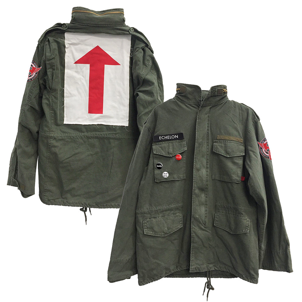 The Mithra Phoenix Army Green Jacket