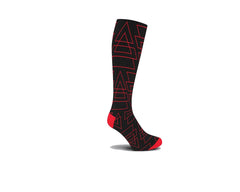 Reflective Triad Knee High Socks