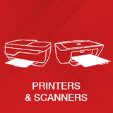 printers and scanners category