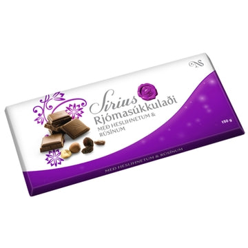 Síríus Cream Chocolate with Nuts & Raisins (150g)