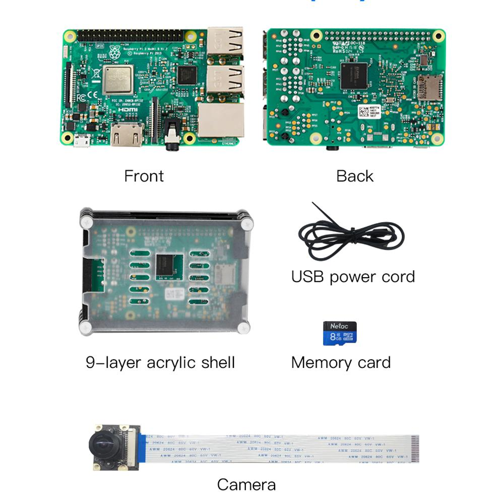Creality3D Raspberry Pi 3 Model B & Camera for 3D Print Monitoring
