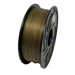 PLA 3D Printer Filament, 1.75mm, 1kg Spool, Bronze