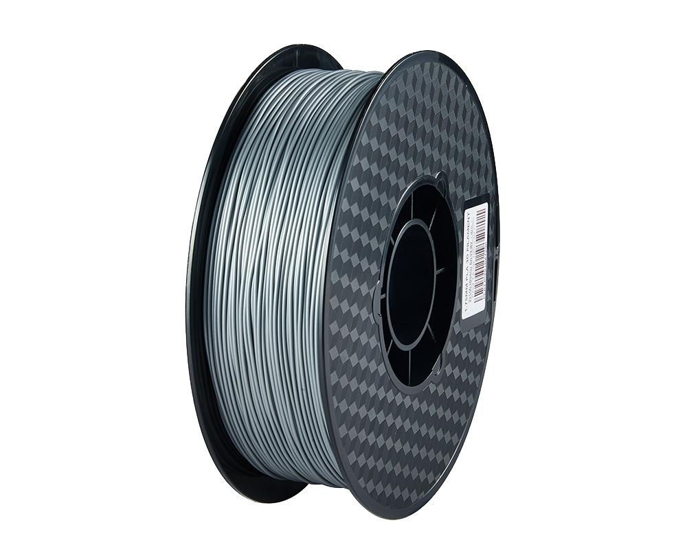 PLA 3D Printer Filament, 1.75mm, 1kg Spool, Silver