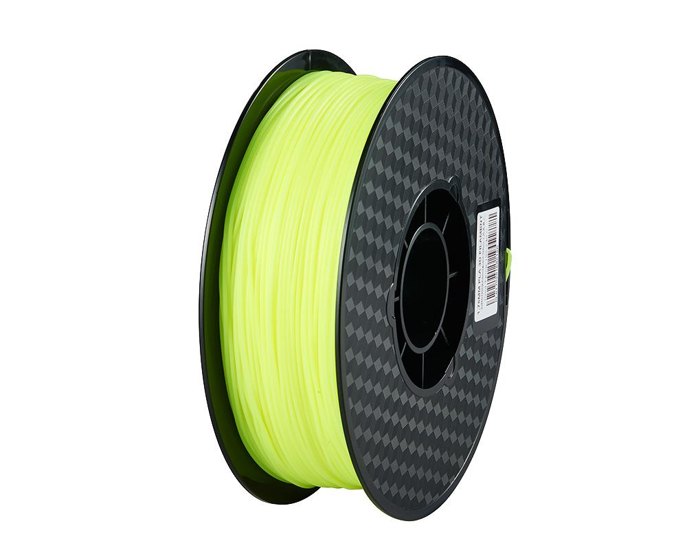Creality3D PLA 3D Printer Filament, 1.75mm, 1kg Spool, Fluorescent Yellow
