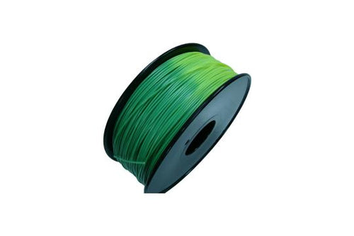 Temperature Color Change PLA 3D Printer Filament, 1.75mm, 1kg Spool, Blue Green to Yellow Green