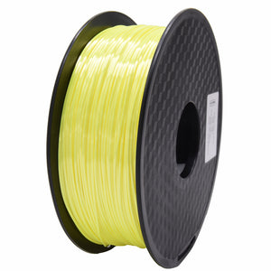 Creality3D PLA 3D Printer Filament, 1.75mm, 1kg Spool, Silk Yellow