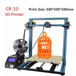 Creality3D CR-10 S5 3D Printer DIY Kit Large Printing Size 500x500x500mm (Random Color)