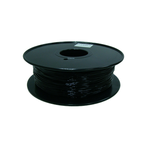 Flexible TPU 3D Printer Filament, 1.75mm, 0.8kg Spool, Black